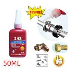 50ml Blue Liquid Medium Strength 243 Threadlocking Adhesive For M8~M20 Thread