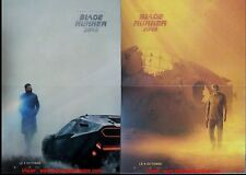 BLADE RUNNER 2049 LOT 2 Affiches Cinéma Preventives PLIEES 53x40 Harrison Ford