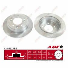 Bremsscheibe, 1 Stück ABE C40311ABE