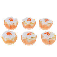 6 Pieces Fake Cup Cakes, Simulation Artificial Food Cake, Kitchen Toy Decor