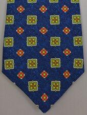 """Kiton Napoli Mens 7 Fold Handmade Woven Neat Tie NEW 59"""" X 3.5"""" SKU B32/45 $290"""