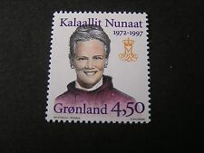 GREENLAND, SCOTT # 314 ,COMPLETE SINGLE SET 1997 CORONATION ISSUE MNH