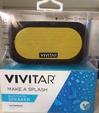 VIVITAR Make A Splash Waterproof Bluetooth Speaker  VS6001(Work Android , Apple)