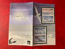 CHILE ANTARCTIC 1986 BULLETIN BIRDS BLOCK CORMORANT PENGUIN SKUA TERN