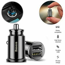 Baseus CCALL-ML01 3.1A Fast Car Charger - Black