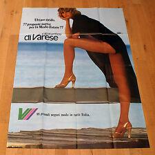 CALZATURIFICIO DI VARESE poster manifesto Fashion Legs Gambe Woman Shoes Scarpe