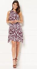 Eva Mendes Collection New York & Company Jina One Shoulder Dress Tribal NWT SZ M
