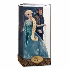 NEW Disney Frozen ELSA & Hans Designer Fairytale Dolls Limited Edition 6000 MIB