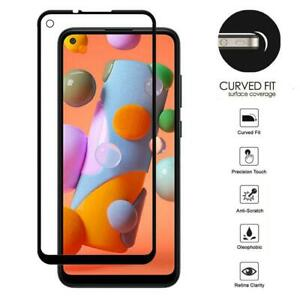 For Samsung Galaxy A11 Edge2Edge AMZER Tempered Glass Screen Protector Guard