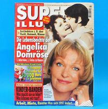 Super Illu 47-1996   14.11.1996 Angelica Domröse Kinder-Banden Tamara Danz