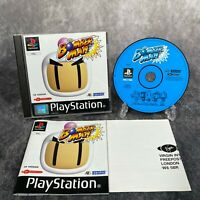 Bomberman PS1 PlayStation 1 PAL Game Complete Hudson Rare Black Label