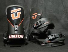 Union mens Factory Bindings 14/15 - Black M/L (fits 8-11)