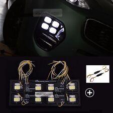 2Way Front Fog Light Lamp DRL LED Module TPC LH RH 10P for KIA 17-18 Sportage QL