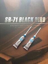 DAMTOYS SR-71 Black Bird Flight Test Engineer Food Tube x2 loose 1/6th scale