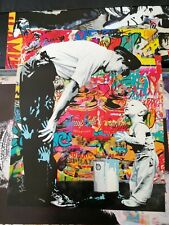 Mr Brainwash Lithographic Poster Print
