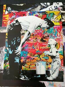 Mr Brainwash Lithographic Poster Print