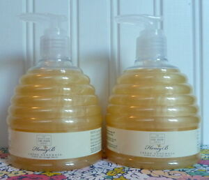 2 SCOTTISH FINE SOAPS BEEHIVE HONEY B CREME HAND WASH 10.5 OZ PUMP BEE HIVE