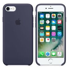 "Azul de medianoche 100% Oficial Original Apple Funda de silicona para iPhone 7 4.7"""
