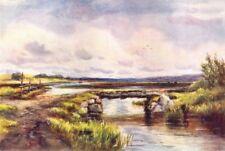 IRELAND. Connaught. Lowlands, Ballinlough, Roscommon c1912 old antique print