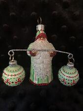"Patricia Breen 2007 ""Balance� Peppermints Santa Ornament"