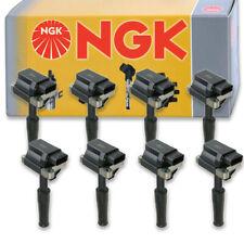 8 pcs NGK Ignition Coil for 2000-2002 Jaguar XKR 4.0L V8 - Spark Plug Tune et