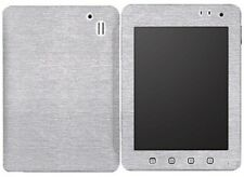 Skinomi Brushed Aluminum Tablet Cover+Screen Protector for ViewSonic ViewPad 7E