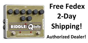 New Electro-Harmonix EHX Riddle Q Balls Envelope Filter Guitar Effects Pedal