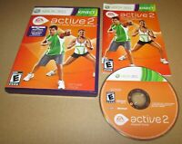 EA Sports Active 2 for Xbox 360 Kinect Complete Fast Shipping!