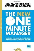 The New One Minute Manager (The One Minute Manager-updated) By Kenneth Blanchard