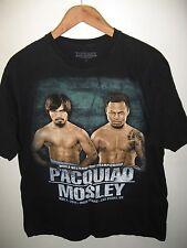 Pacquiao Mosley Tee - 2011 Welterweight Boxing Championship Las Vegas T Shirt XL