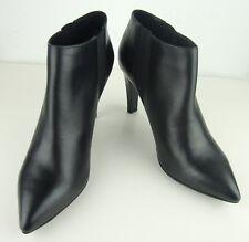 JOOP! Stiefeletten Leder Ankle Boots Damen Halbstiefel Bootie Schwarz Gr.42 NEU