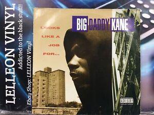 Big Daddy Kane Looks Like A Job For LP Album Vinyl 9362-45128 Rap Hip Hop 90's