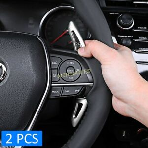 For 2018+ Toyota Camry Avalon Corolla Steering Wheel Shift Paddle Accessories