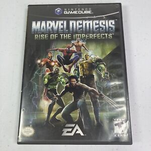 Marvel Nemesis: Rise of the Imperfects (Nintendo GameCube, 2005) Tested Works