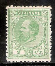 Suriname Nummer  4D   Ongebruikt.