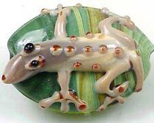 Lampwork Handmade Desert Lizard Large Bead