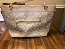 Coach  large leather handbag Excellent Condition.