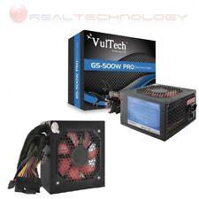 Alimentatore pc atx 500 watt ventola 12 cm 500w VulTech Real Power GS-500W Pro