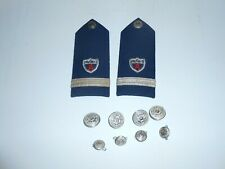 Vintage Coast Guard Auxillary Shoulder Boards And Buttons