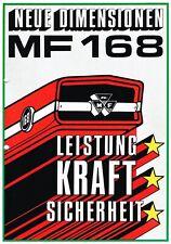 Massey- Ferguson Schlepper MF 168, orig. Prospekt 1972