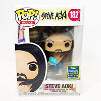Funko Pop Remix SDCC 2020 Exclusive Steve Aoki #182 Vinyl