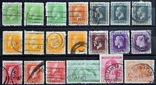 New Zealand Neuseeland ex. Kat. 136-174 used 1915/26