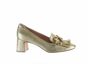 Kate Spade Womens Yarrow Fringe Pale Gold Pumps Size 7.5 (2110715)