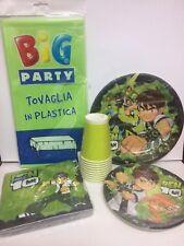 COORDINATO TAVOLA BEN TEN BEN 10 addobbi tavola festa compleanno bambino