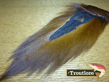 BROWN BUCKTAIL NATURE'S SPIRIT SELECT BUCK TAIL - NEW FLY TYING HAIR MATERIAL