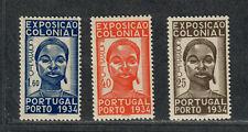 Portugal Sc#558-560 M/LH/VF, Cv. $51