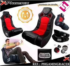 Chair Sofa PHOENIX Gaming Racer Black Sound System 2.1 Of Quality (Peninsula)