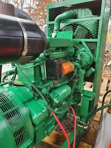 NORTHERN LIGHTS 40 kW 138A JOHN DEERE Diesel Generator Farm, Industrial 50 hours