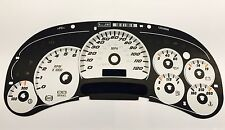 New OEM 03-05 GM SS Truck White Instrument Cluster Dash Gauge Face / Applique