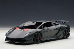 1:18 Lamborghini Sesto Elemento -- Carbon Grey/Red -- AUTOart 74671